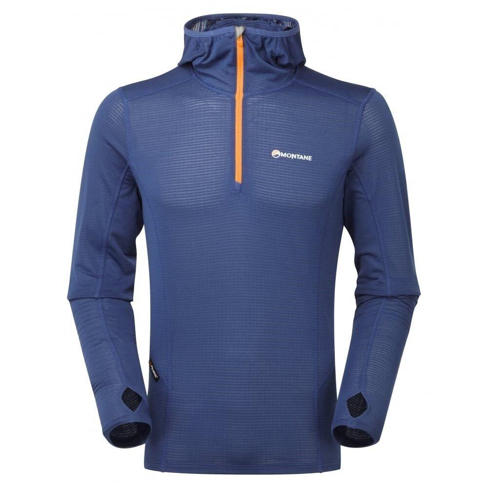 Montane Allez Micro Hoodie, plus facilement Sweat pour homme, Antarctic Blau