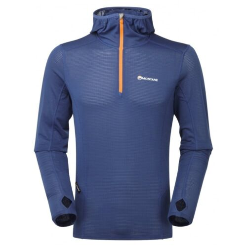 Montane Allez Micro Hoodie, Light Hoody Sweater for Men, Antarctic Blue