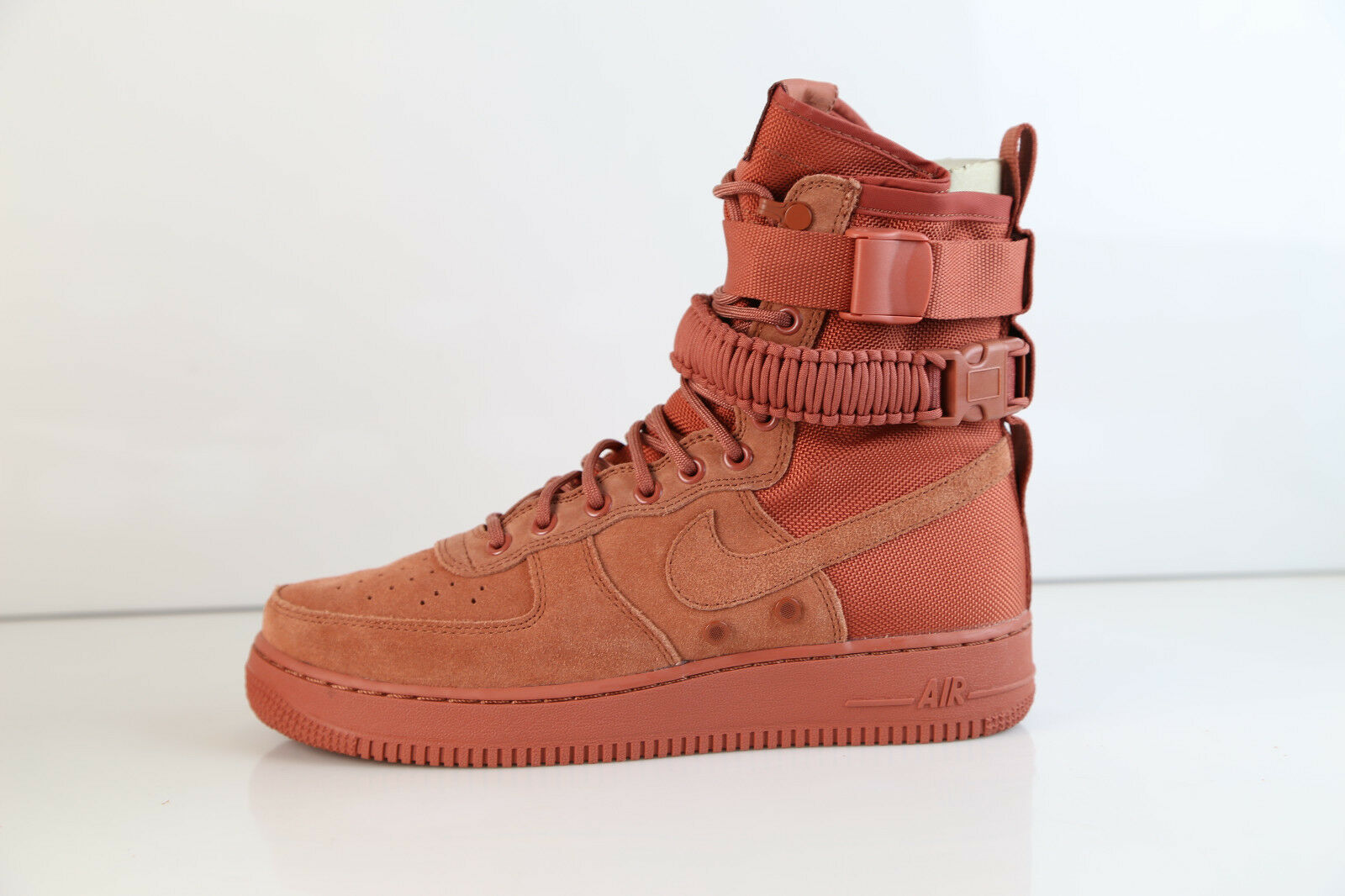 Nike SF AF1 Dusty Peach Suede Special 864024-204 9 - 12 Special Suede Air Force 1 2ed8f0