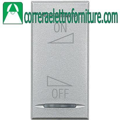BTICINO AXOLUTE tech copritasto ON OFF regolazione HC4911AI