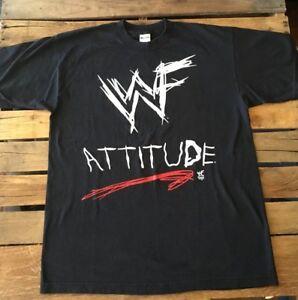6a87d5dd ... WWF t-shirt rare attitude era stone cold | Etsy · vtg ...