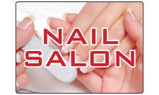 Nail Salon Hair Skin Spa Sign Retain Storefront Adhesive Vinyl Sign Decal