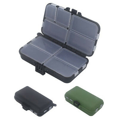 Multi Purpose Fishing Lure Spoons Hooks Bait Tackle Hook Wallet Storage Box Case