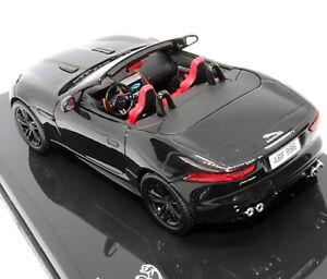 Jaguar-F-Tipo-V8-S-Negro-1-43-Escala-Modelo-Coche-Fundido-a-Troquel-distribuidor-por-IXO-Models