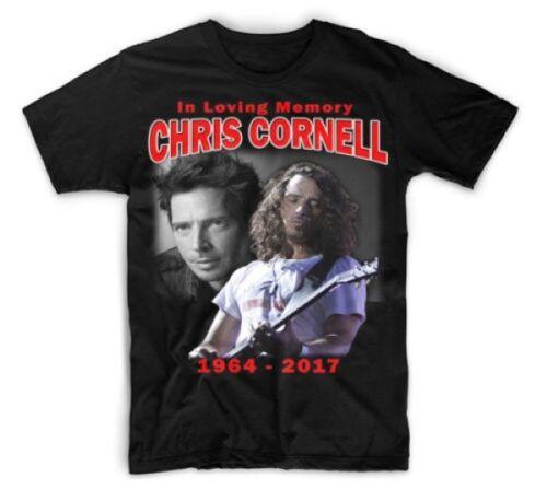 CHRIS CORNELL IN LOVING MEMORY T-SHIRT FOR MEN