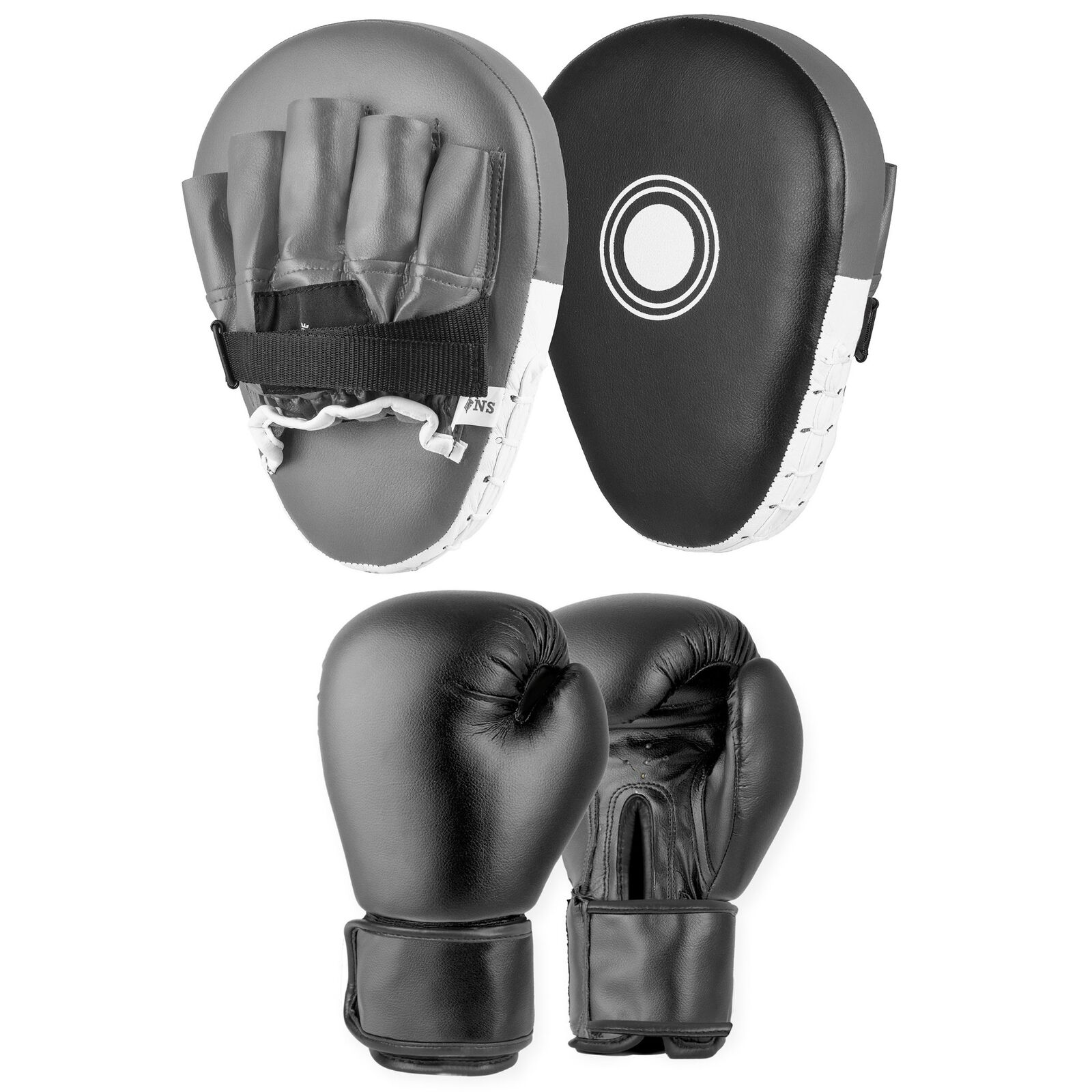 Lions Boxing Gloves And Focus Pads Set Curved Hook /& Jab Punch Bag Gloves Target Strike Shield Punching Mitts Training