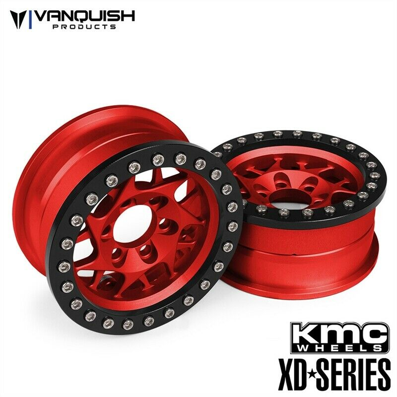 Vanquish Products KMC 1.9  XD127  Bully ruedas rosso Anodized VPS07713  Sconto del 70%