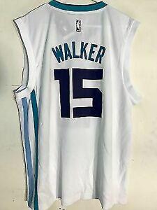 wholesale dealer 5fdc0 1b8a2 adidas NBA Jersey Charlotte Hornets Kemba Walker White Sz S