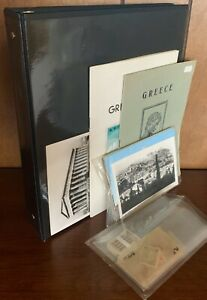 GREECE GREEK POSTAL HISTORY COLLECTION LOT - STAMPS COVERS POSTCARDS CRETE