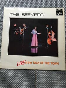 Seekers-vinyl-LP-album-record-Live-At-The-Talk-Of-The-Town-SCX6278
