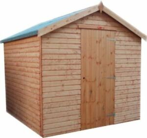 Image Is Loading Top Quality Wooden Apex Garden Shed Fully T