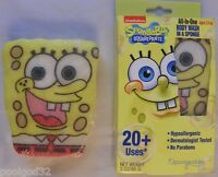 10 Spongebob All In One Scented Gel Body Wash In Sponge 20+ Washes Ea Kids 3+yrs
