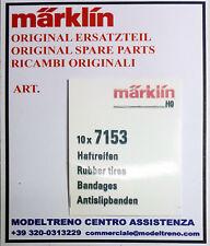 MARKLIN  7153 CERCHIATURE ADERENZA - HAFTREIFEN -  RUBBER TIRES  (10 ST.)