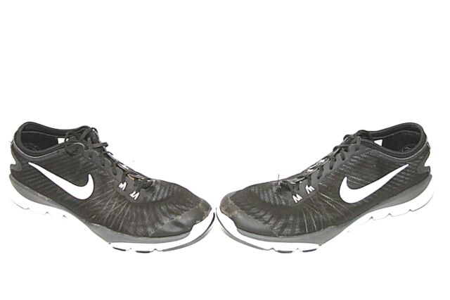 647750027846 Women s Nike Flex Supreme TR 819026-002 Training Shoes Black White US Size  12