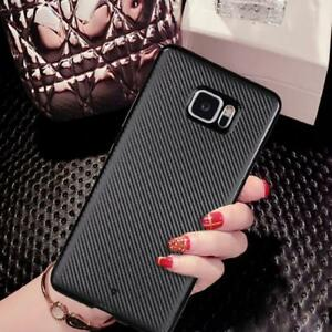 brand new e1b92 3a5ba Details about Carbon Fiber Soft TPU Flexible Heavy Duty Case Cover For HTC  U Play |HTC U Ultra