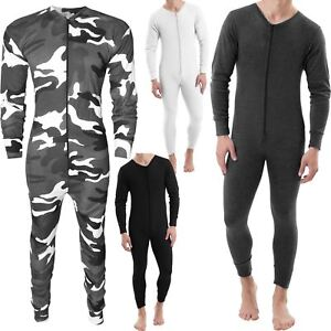 NEW-MENS-THERMAL-ALL-IN-ONE-UNDERWEAR-SET-BASELAYER-ZIP-SKI-BODY-JUMPSUITS-S-XXL