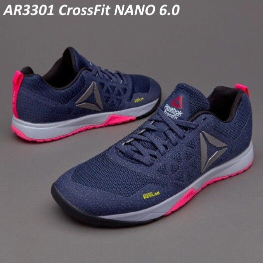 65b5597bd21 Reebok Crossfit Nano 6.0 Womens Shoes Ar3301 Size 6 6.5 7.5 or 11 US for  sale online