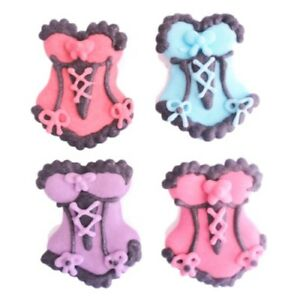 120-BULK-LOT-Edible-Burlesque-Cupcake-Toppers-Decorations-Hens-Party-Cakes