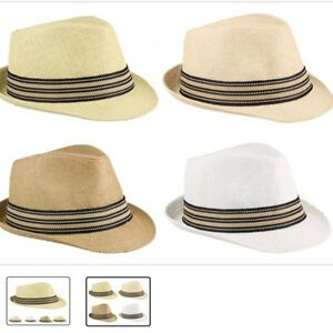 Image is loading Fedora-Hat-Wedding-Dress-Formal-CAP-WHITE-BEIGE- c7a483aca73