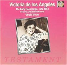 Victoria de los Angeles - The Early Recordings, 1942-1953 Testament SBT 1087