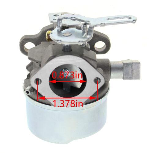 Adjustable Carburetor for TECUMSEH 5HP MTD 640084B 640084A SNOWBLOWER Carb Assy