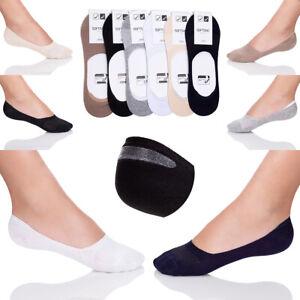 Herren-Atmungsaktiv-Multipack-Socken-Silikon-Rutschfeste-Invisible-Schuh-Liner