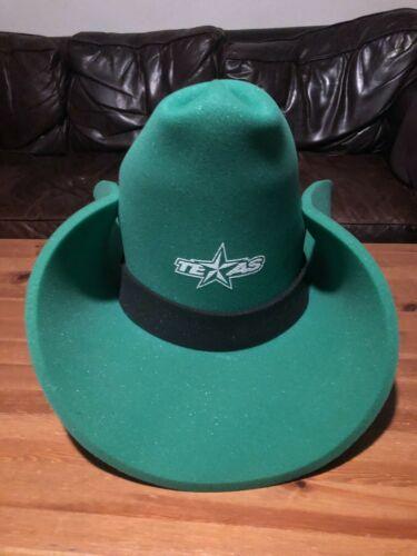 Texas Stars Hockey Season Cowboy Hat Foam Fan Gree