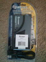 Steren Rf-modulator 203-101designed For Dvd And Gaming Channels 3 And 4