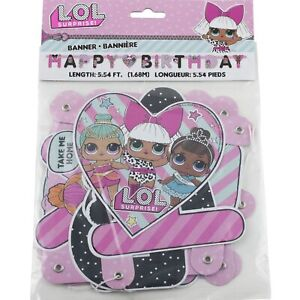 LOL-Surprise-Happy-Birthday-Banner-Party-Decoration-Supplies-5-54-ft