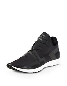fbacfdfd59572 Adidas Y-3 ARC RC Low Black White Sneakers (S77212) Size 11.5 US