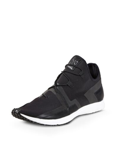 Adidas Y-3 ARC RC Low Black//White Sneakers S77212 Size 11.5 US