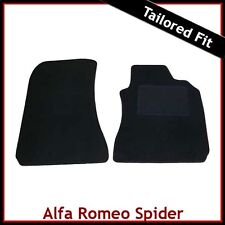 Alfa Romeo Spider 916 1995-2006 Tailored Carpet Car Mats BLACK