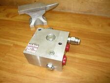 Eaton Vickers X630aa01861a Plz Read Hydraulic Manifold Assembly Aluminum