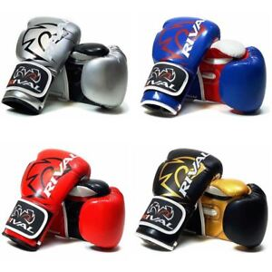 Rival-Boxing-Bag-Gloves-Fitness-Plus-RB7-Training-Glove-Silver-Blue-Red-Gold
