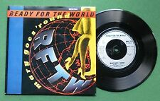"""Ready For The World Mary Goes 'Round / It's All A Game MCA1144 7"""" Single"""