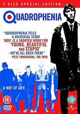 Quadrophenia Phil Daniels, Leslie Ash, Philip Davis, Mark Wingett NEW UK R2 DVD