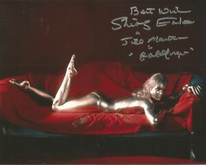 James-Bond-Shirley-Eaton-Goldfinger-signed-authentic-autographed-photo-AK1381