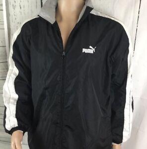 5795f3865999 Image is loading Vintage-Puma-Track-Jacket-Windbreaker-Training-Full-Zip-