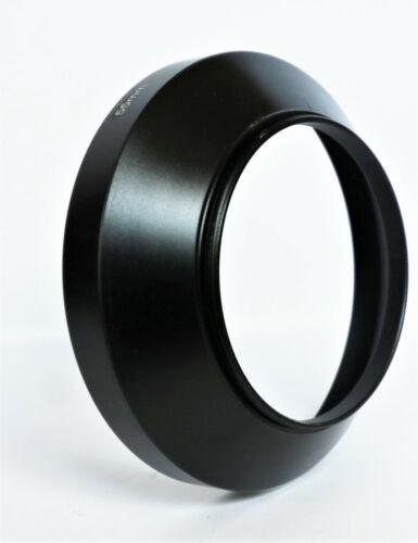 Nueva lente gran angular Capucha Universal Metal Lens Hood 55mm