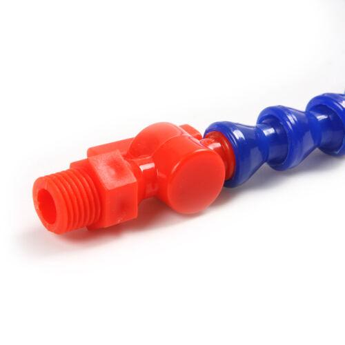 5 X Tubo Flexible Plástico Agua Aceite Refrigerante Manguera Para Torno CNC 11.9/'