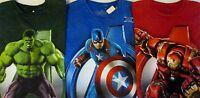 Men's Age Of Ultron Avengers Marvel Comics T-shirt Iron Man, Hulk Or Cap. Am