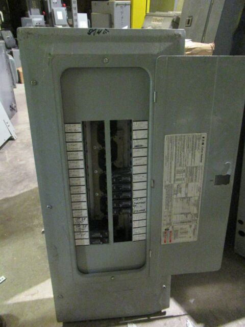 Cutler Hammer Br3042l200 Load Center  200 Amp Mlo  120  208