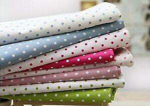 4-mm-Pois-100-Coton-Tissu-par-la-cour-Pois-Dot-Quilting-FF-077