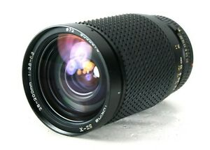 Tokina SZ-X 28-200mm Zoom Lens For Canon F-1, A-1, AE-1, AE-1 Progam, T90