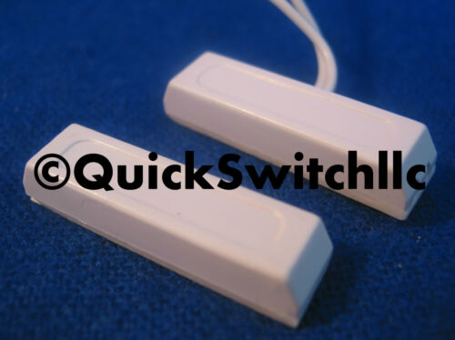 10 Self Adhesive Window Door Alarm Piece Magnetic Switch Fits Honeywell Ademco