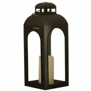 Smart-Design-Moreno-17H-in-Lantern-with-LED-Candle
