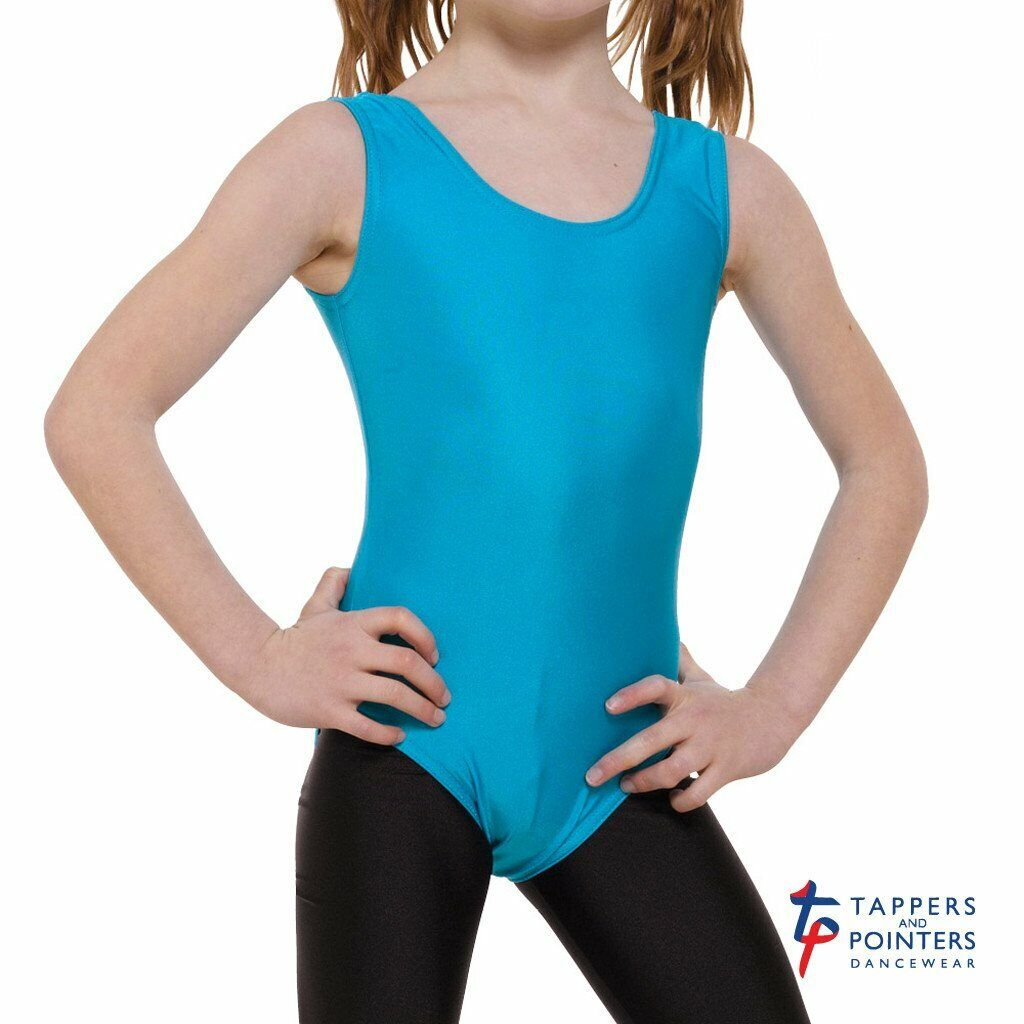 CLOSING DOWN SALE Tappers and Pointers Children's Sleeveless Plain Front Leotard