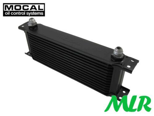 10 JIC UNIVERSAL MOTORSPORT OIL COOLER OC5137-10 AAD MOCAL 13 ROW 235MM AN