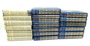 1911-Limited-William-Thackeray-Frederick-Walker-Illustrations-Volume-16-Book-Lot