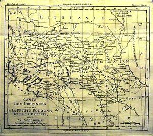 Antique-map-Carte-de-la-Lithuanie-de-la-Courlande